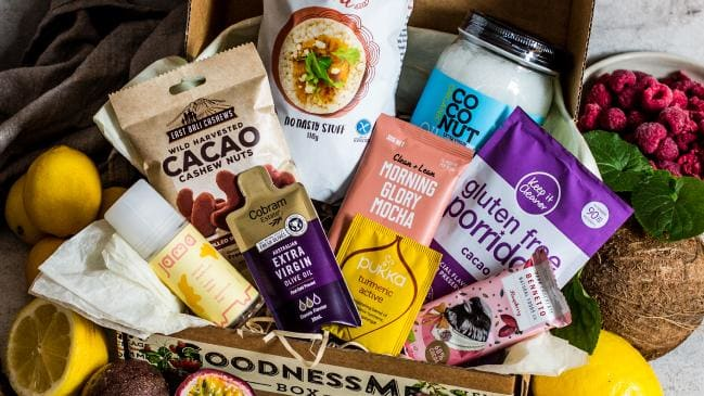 GoodnessMe Box reaches thousands of mainly female customers on a monthly basis. It costs  a month for seven to 10 products.