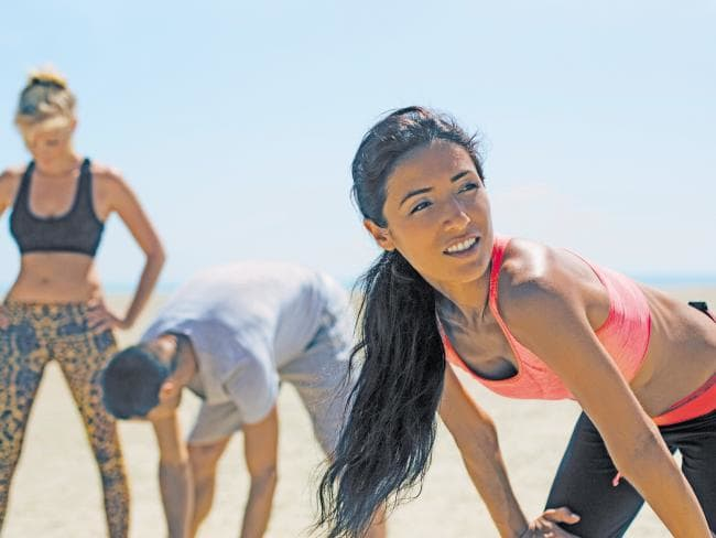 The body-type quiz lets you cater your workout to suit your body type and personality. Picture: Stocksy